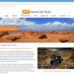 UTV Adventure Tour Website - Homepage